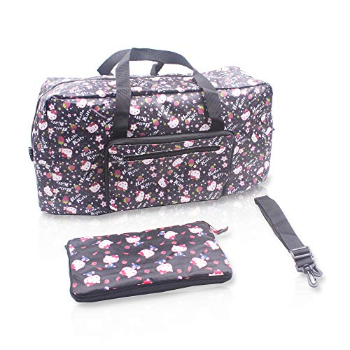 5dd576deb7e3 Finex Hello Kitty Foldable Easy-to-carry Travel Bag with adjustable strap -  Random