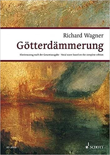 GOTTERDAMMERUNG: DER RING DES NIBELUNGEN WWV 86 D VOCAL SC GERMAN BASED ON COMPLETE ED (Wagner Urtext Piano/vocal Scores) by Richard Wagner (2013-03-01)