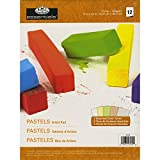 Royal Brush and Langnickel 12-Sheet Artist Pastels Essentials Artist Paper Pad, 9-Inch by 12-Inch, Assorted Color