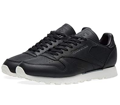 786e3e5ed Reebok Mens Trainers 'Old Meets New' Classic Leather BD1906 Black ...