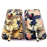 2-Set Main Battle Tanks RC 1/24 Infrared LED Tank