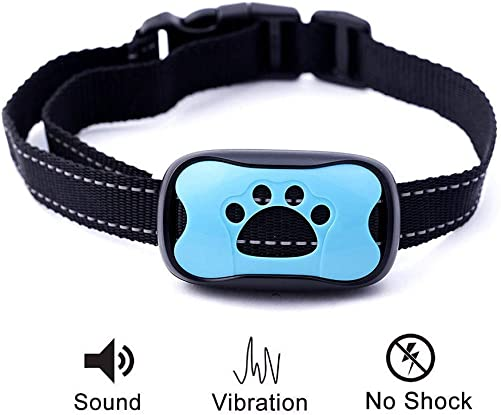 Dog Bark Collar Anti Barking Training Collar 100 Humane Vibration No Shock Dog Collar Stop Barking Collar for Small Medium Large Dogs Best No Barking Dog Collar