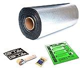 30sqft GTMat Pro 50mil Car Audio & Heat Shield Sound Deadener Material