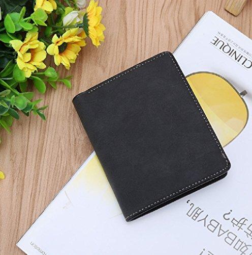 Dairyshop Bifold Business Wallet ID titolare della carta di credito Sacchetto di borsa della borsa della moneta della moneta per gli uomini