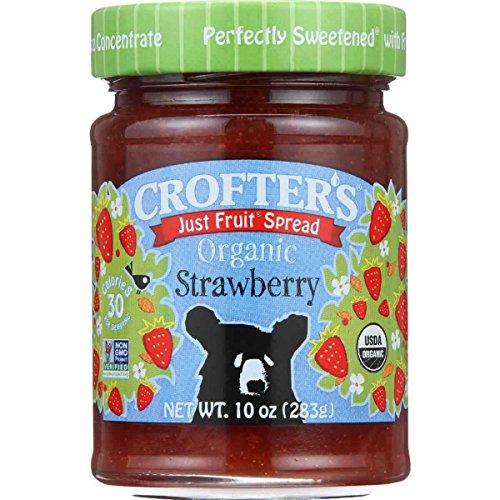 Crofters Organic Apricot Just Fruit Spread, 10 oz