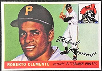 Roberto Clemente Hof 1955 Topps Rookie Rc 164 Pittsburgh