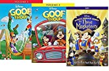 Disney's Goof Troop: Volume 1 & 2 Complete Series + Mickey, Donald, Goofy: The Three Musketeers - 3-Feature DVD Pack