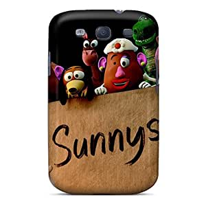 Premium FBJ4167XEKb Cases With Scratch-resistant/ 2010 Toy Story 3 Movie Cases Covers For Galaxy S3
