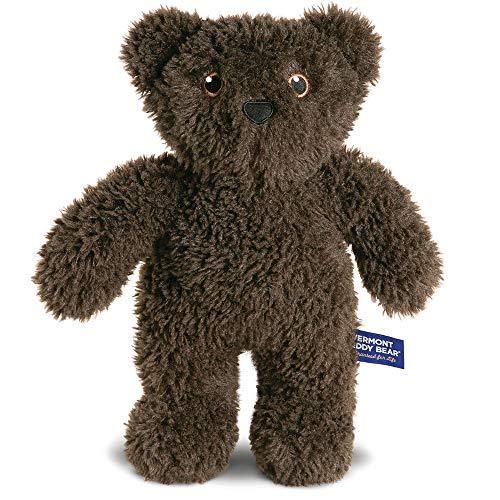Vermont Teddy Bear Stuffed Bear - Brown Teddy Bear, 14 Inch, Dark Brown, Take Along Teddy from Vermont Teddy Bear