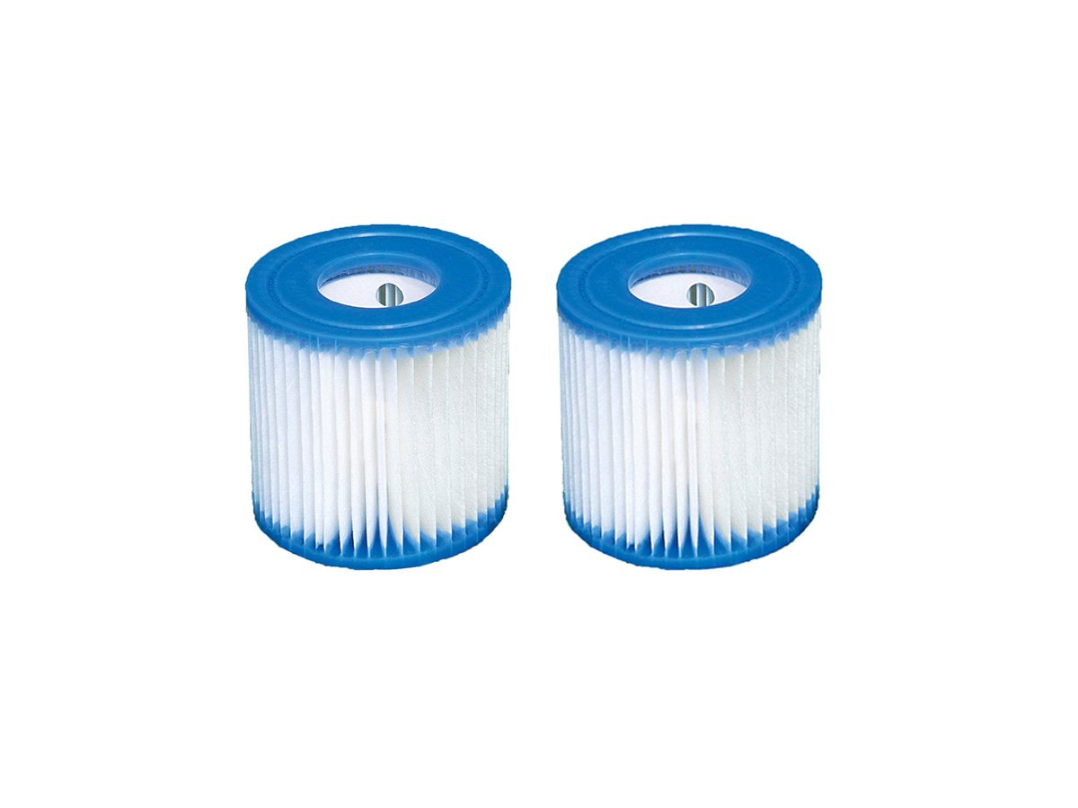 2 x Intex Filter Cartridge Type H (29007) for Filter Pump 28601 28602 Typ H