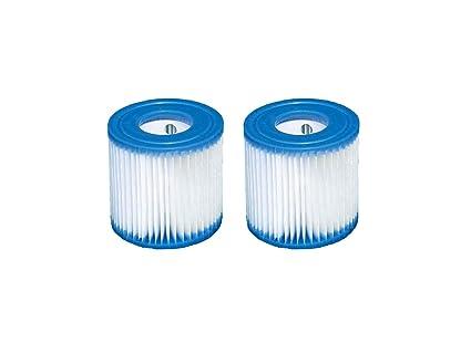2 x cartucho de filtros tipo H (29007) de Intex para filtros de ...