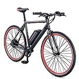 Schwinn Monroe 250 Watt hub-drive, fixie electric bicycle - 700c wheel size, Mens/Womens (Medium)