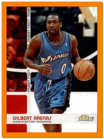 2005-06 Finest Fact REFRACTOR  FF17 Gilbert Arenas WASHINGTON WIZARDS  SERIAL  164 199 ARIZONA WILDCATS at Amazon s Sports Collectibles Store 443d4c937