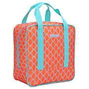 MIER Cooler Bag Tote Adult Insulated Lunch Bag, Large, Bright Orange