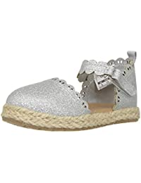 Kids Faline Girl's Closed Toe Espadrille Sandal Mary Jane...