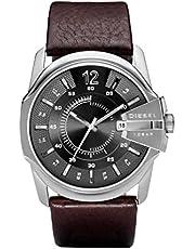 Diesel Herren-Uhren Rund Analog Quarz Leder 32002820