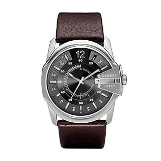 Diesel Herren Analog Quarz Uhr mit Leder Armband DZ1206 9
