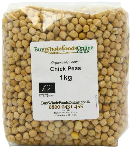 Buy Whole Foods Organic Chick Peas 1 Kg by Buy Whole Foods