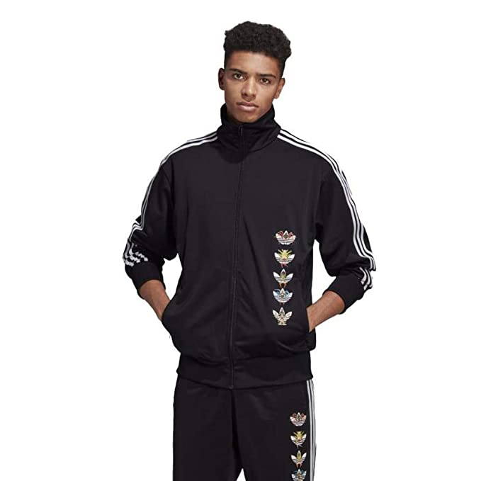 adidas Originals - Chaqueta - para Hombre Negro XS: Amazon ...