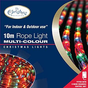 Benross the christmas lights 10m chaser rope light multi coloured benross the christmas lights 10m chaser rope light multi coloured aloadofball Choice Image