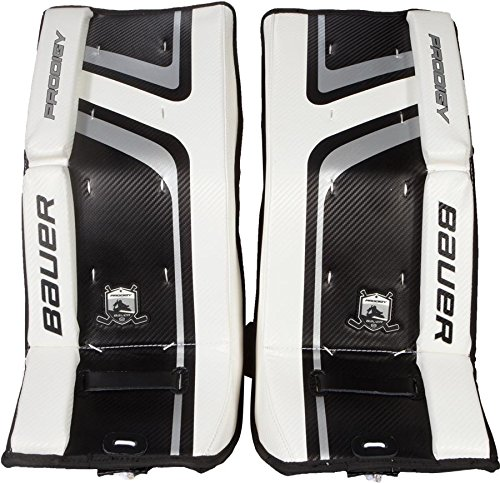 Youth Hockey Goalie Leg Pads (Bauer Prodigy 2.0 Goalie Leg Pads)