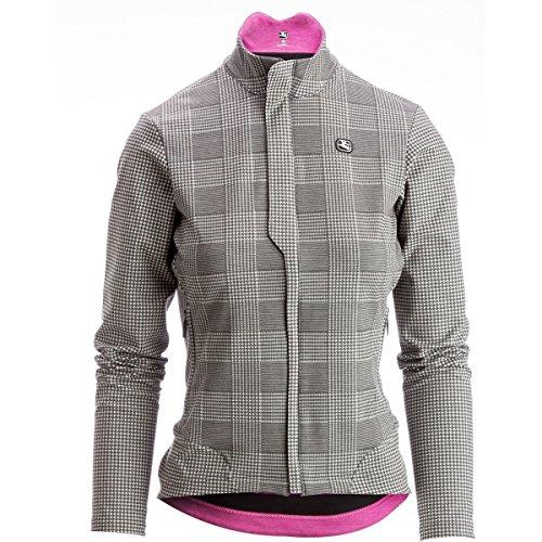 Giordana Sosta Winter Jacket - Women's Grey Plaid, L