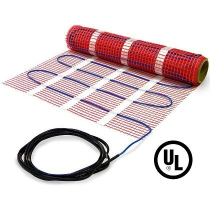 35 sqft HeatTech 120V Electric Tile Radiant Floor Heating Mat