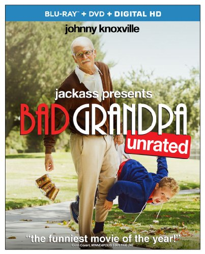 Jackass Presents: Bad Grandpa (Unrated) (Blu-ray + DVD + Digital HD)