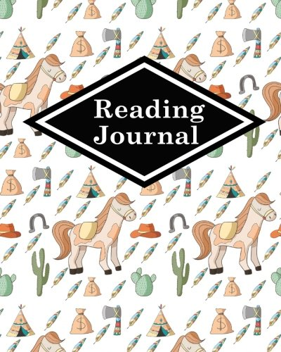 Read Online Reading Journal: Book Reading Journal, Reading Journal Template, Portable Book Reading Chart, Reading Log Sheet, Cute Cowboys Cover (Reading Journals) (Volume 8) ebook