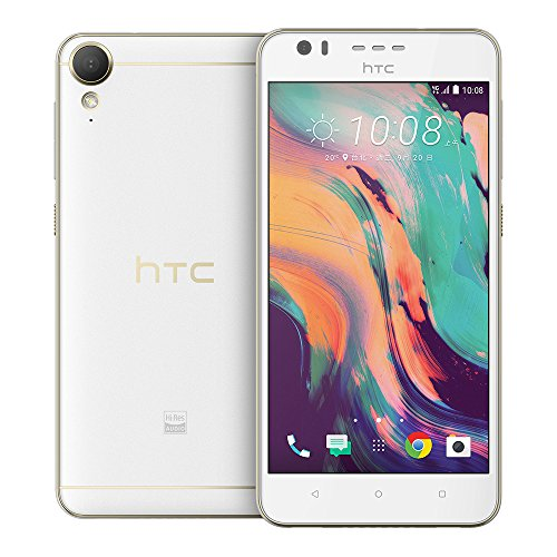 (HTC Desire 10 lifestyle 2GB / 16GB 5.5-inches Factory Unlocked - International Stock No Warranty (Polar White))