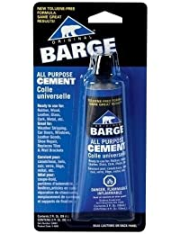 Win (1) ONE -Barge ~ 2oz. CONTACT CEMENT for LEATHER ~ All Purpose opportunity