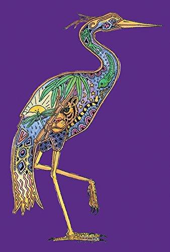 (Toland Home Gardn Animal Spirits Heron 28 x 40 Inch Decorative Native Spiritual Bird House Flag)