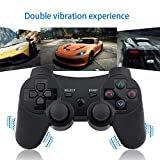 PS3 Controller Wireless 2 Pcs Double Shock