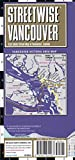 #8: Streetwise Vancouver Map - Laminated City Center Street Map of Vancouver, Canada (Michelin Streetwise Maps)