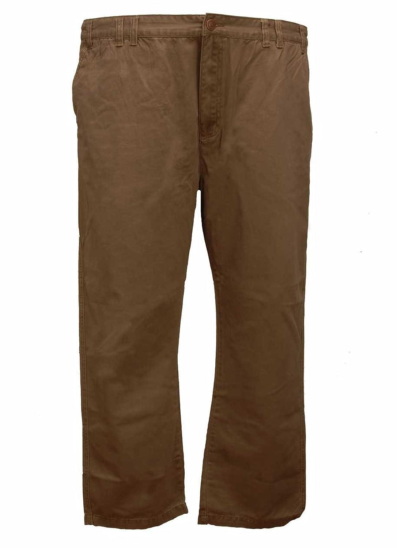 Kam Chino Trousers 48 Regular Cotton Brown