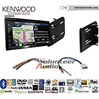 Volunteer Audio Kenwood Excelon DNX694S Double Din Radio Install Kit with GPS Navigation System Android Auto Apple CarPlay Fits 2010-2013 Nissan Cube (Without Bose)