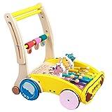Baby Doll pram Wooden Pram and Stroller toys --Cherry