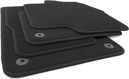 Kh Teile Fußmatten Passend Für Sharan 2 7n Automatten 4 Teilig Velours Schwarz Auto