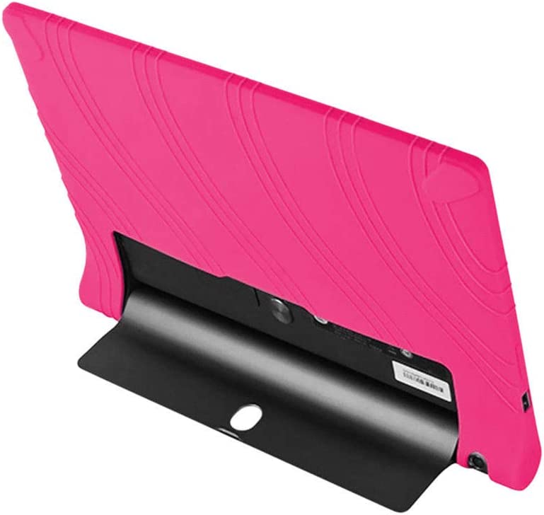 Meijunter YT3-X50F Case Light Weight Anti Slip Stand Silicone Gel Rubber Case Cover for Lenovo YOGA Tab 3 10 YT3-X50F//M//L 10.1 Inch,Black