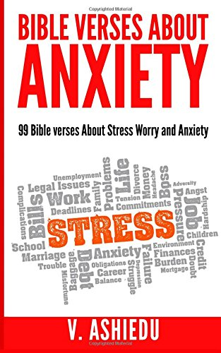 Bible Verses about Anxiety verses product image