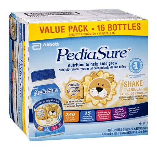 Pediasure Shake Vanilla - 16 CT by Pediasure