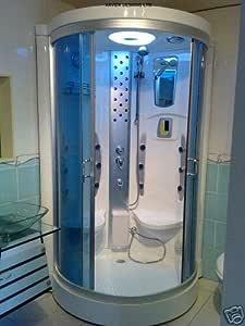 Nueva ducha de vapor Xavier con 2 asientos y Cubículo Sauna 1.000 ...