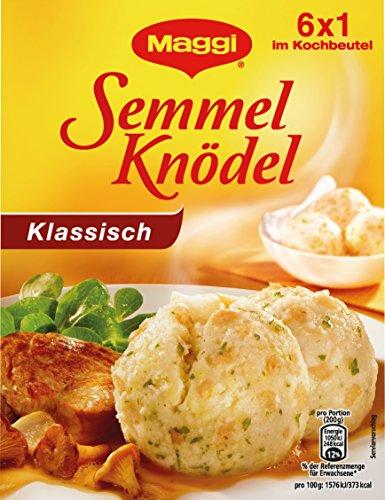 (MAGGI Semmel Dumplings Cooking Bag (Semmel-Knödel) 2 Boxes 6x1 im Kochbeutel 7oz / 200g)