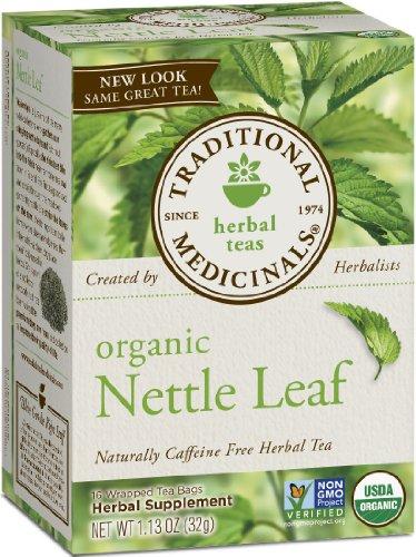 Sac Medicinals traditionnelle organique de thé, Feuille d'ortie, 16 Count (pack de 6)