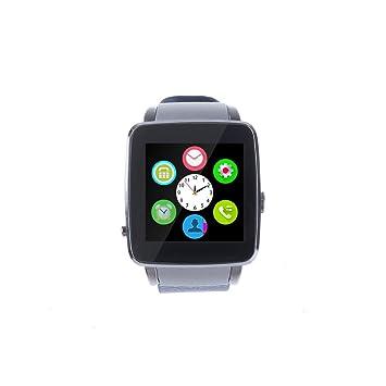 Levipower®X6 Series Reloj Inteligente SIM Cámara Bluetooth para Andriod IOS (Azul): Amazon.es: Electrónica