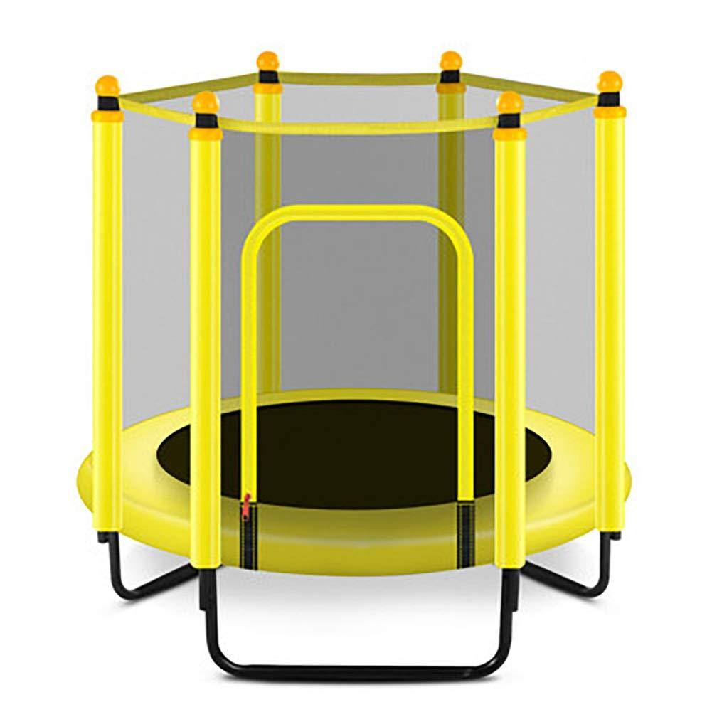 47 Zoll Trampolin mit Schutznetz, Safe Elastic Band Fitness Trainer für Kinder oder Erwachsene Tragende 550lbs Springende Bett