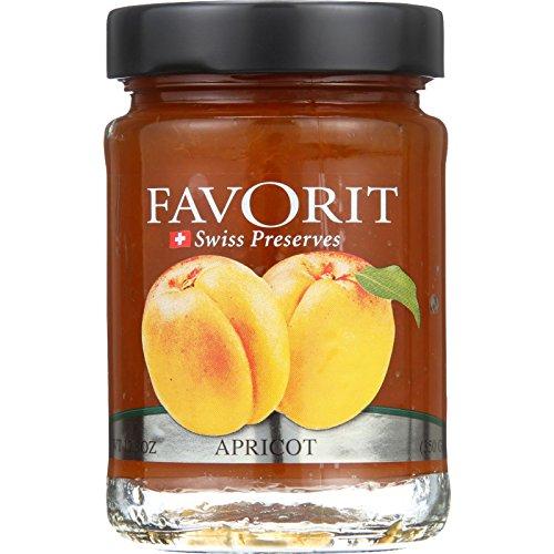 - Favorit Preserves - Swiss - Apricot - 12.3 oz - case of 6