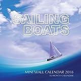 Sailing Boats Mini Wall Calendar 2018: 16 Month Calendar by Paul Jenson