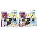 Fujifilm Quicksnap Flash 27 Fotocamera usa e getta, 2 pezzi