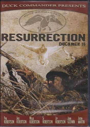 DUCK COMMANDER Duckmen Hunting DVD's, 16: Resurrection